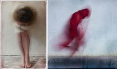 Photograph moving subjects to create blurred, painterly forms, as in these examples by Mirjam Appelhof