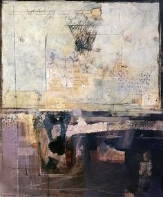 "Katherine Chang Liu, ""Scaffold"", mixed media on paper"