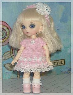PukiFee, Lati Yellow, Luts Tiny Delf Dolls by JCsTinyTreasures, $22.00
