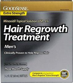 GoodSense(R) Minoxidil Topical Solution - 6 UNITS