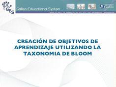 Creación De Objetivos Con La  Taxonomía De  Bloom by Mayra Noemi Pérez Sandoval, via Slideshare