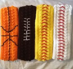 Crochet Sports Headband by LilacLobster on Etsy, $10.00