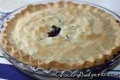 The best part of waiting ALL Year for fresh wild blueberries is Blueberry Pie, a delectable treat of fresh berries in a flaky buttery pie crust and paired with fresh homemade vanilla ice cream.