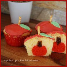 りんごのカップケーキLessonのご案内 の画像|icing cookie salon HARUHARU 徳島 アイシングクッキー デコカップケーキ 教室