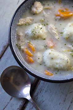 Chicken & Dumplings (gluten-free!)  Prep Time: 20 Minutes  Cook Time: 1½ Hours  Makes: 12 Servings