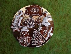 Dekorativní perníčky - Fotoalbum - Vánoční Christmas Themes, Gingerbread, Decorative Plates, Cookies, Tableware, Winter, Outdoor Decor, Wafer Cookies, Xmas