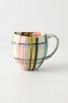 love the painted plaid