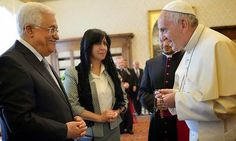 """Current Affairs: Pope calls Palestinian leader Abbas """"angel of peac..."""