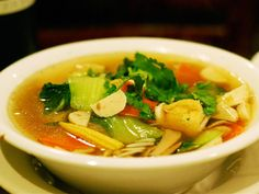 10 Great Vegetarian Soups In NYC | Serious Eats : New York