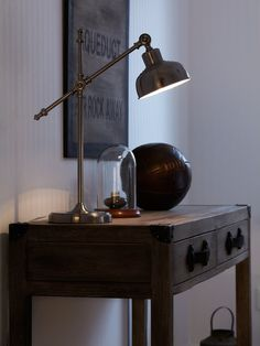Grimstad 56cm Desk Lamp Desk Lamp, Table Lamp, Industrial Bedroom, Spare Room, Lighting, House, Vintage, Space, Design