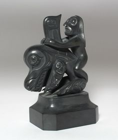 Best haida argillite carvings images native art first