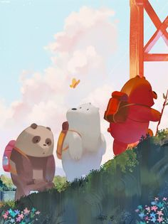 We Bare Bears Wallpaper 94 Images in We Bare Bears Christmas Wallpaper - All Cartoon Wallpapers We Bare Bears Wallpapers, Panda Wallpapers, Cute Cartoon Wallpapers, Animes Wallpapers, Bear Wallpaper, Kawaii Wallpaper, Disney Wallpaper, Mobile Wallpaper, Wallpaper Wallpapers