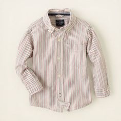 Cute Christmas look?  Children's Place striped shirt