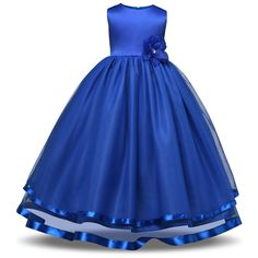 Bright Colorful Princess Party Ball Gown for Kid Tag a friend who would love this! FREE Shipping Worldwide Buy one here---> https://partyinstyleshop.com/bright-colorful-princess-party-ball-gown-for-kid/