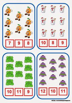 Ζήση Ανθή : Μαθαίνοντας αριθμούς στο νηπιαγωγείο . Παίζω και μαθαίνω τους αριθμούς από το 0 ως το 31 με χειμωνιάτικα θέματα ... Kindergarten Math Activities, Kids Math Worksheets, Counting Activities, Toddler Learning Activities, Math Games, Teaching Math, Teach English To Kids, Autism Education, Teacher Binder