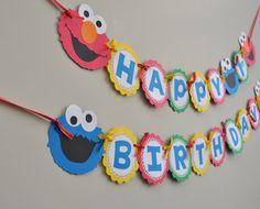 Sesame Street Banner Sesame Street Birthday by DesignsByDodi