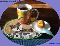 El cuartico del embeleso: Fietsi Fuchs - Fox - Mug Rug