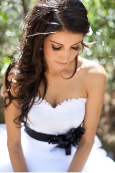 Bridal portrait @jen Olmstead  is this too simple/everyday for hair?