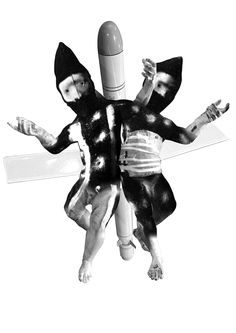 Missile Twins 2017 Digital collage