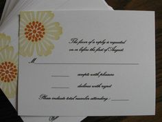 Mixed Bunch Wedding - RSVP Card by CLOcards - Cards and Paper Crafts at Splitcoaststampers