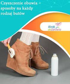 Czyszczenie obuwia - sposoby na każdy rodzaj butów   Czyszczenie obuwia jest niezbędnym procesem jeśli chcemy zachować buty na długi czas. Najważniejsze aby dobrać środki do materiału. Oto kilka wskazówek. Diy Cleaners, Aga, Handmade, Hand Made, Craft