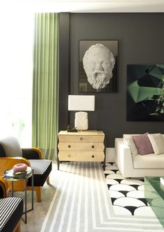 Living Art déco designed by Toninho Noronha | Casa Cor SP .