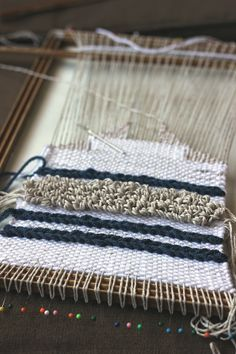 Lovely Tapestry Weaving from Hello Hydrangea #weaving #mustmake #wip