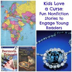 Kids Love a Curse: Fun Non-fiction Stories to Engage Young Readers + a giveaway!