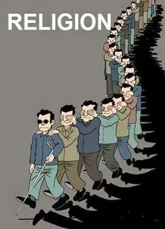 The blind leading the ones who do not want to see