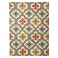 Threshold™ Floral Bell Hand Tufted Indoor/Outdoor Area Rug