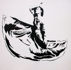 Dancer (First Edition) by Blek Le Rat