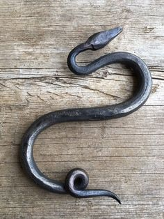 hand forged S hook snake
