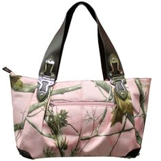 Pink Camo Purse, they have something similar at Bass Pro Shops