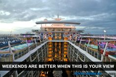 I wish this was where I was spending my weekend #cruise #travel