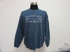 Vtg 90s Starter Dallas Cowboys Crewneck Sweatshirt sz L Large Sewn Stars NFL NFC Vintage  by TCPKickz on Etsy