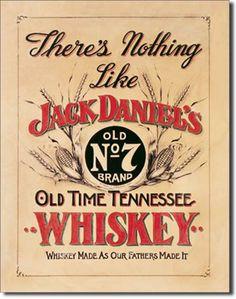 Jack Daniel's Nothing Like 16 x 12 Nostalgic Metal Sign   Man Cave Kingdom - $21.99