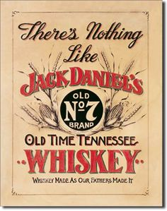 Jack Daniel's Nothing Like 16 x 12 Nostalgic Metal Sign | Man Cave Kingdom - $21.99