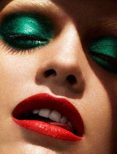 Green Eye Makeup Ideas 2012 147