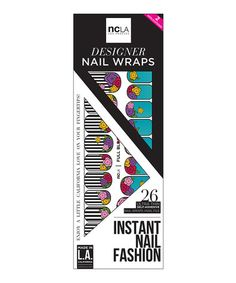 This Full Bloom Nail Decal Set is perfect! #zulilyfinds