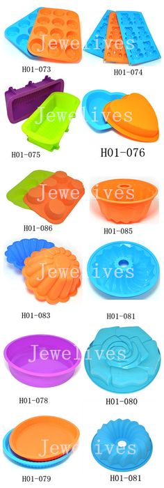 Silicone bakeware , silicone cake mold with differnet size and shpaes via jewelives
