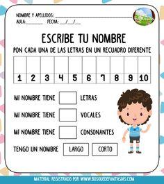 Spanish Fast For Kids Info: 6344518066 Preschool Education, Preschool Learning, Preschool Activities, Teaching Kids, Spanish Lessons For Kids, Spanish Teaching Resources, Name Activities, School Items, Classroom Language