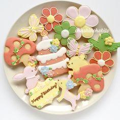 pastel color cookies♡