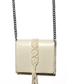 """Vanity mini"" vanilla bag Mini Bag, Hand Stitching, Ss, Vanilla, Shoulder Bag, Detail, Leather, Shoulder Bags, Small Bags"