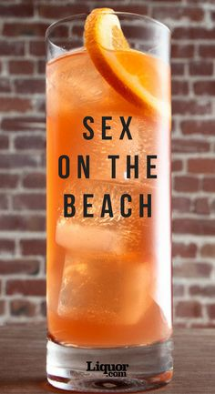 Sex on the Beach Cocktail Recipe - - Sex on the Beach Cocktail Recipe Drinks Sex on the Beach sports a provocative name for a harmless fruity drink. Learn how to make the cheeky cocktail and impress all your friends! Beach Cocktails, Fruity Cocktails, Refreshing Drinks, Cocktail Drinks, Yummy Drinks, Cocktail Recipes, Fruity Alcohol Drinks, Tequila Drinks, Mixed Drinks With Vodka