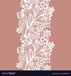 Find White Lacy Vintage Elegant Trim Vector stock images in HD and millions of other royalty-free stock photos, illustrations and vectors in the Shutterstock collection. Couture Embroidery, Gold Embroidery, Lace Design, Pattern Design, Flower Art Images, Hand Embroidery Design Patterns, Texture Drawing, Lace Tattoo, Paper Decorations