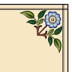 Hd Flowers, Border Design, Antiques, Digital, Pattern, Antiquities, Antique, Patterns, Model