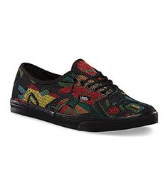 78d7aa6c33 Vans Unisex Authentic Lo Pro Tapestry Floral BlackBlack Sneaker Mens 35  Womens 5 Medium