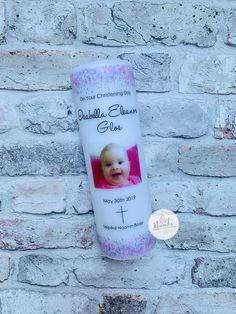 Personalised Christening   Baptism   Naming Day Candles Girl, Boy, Custom, Irish Christening, Galway