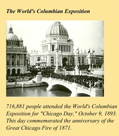 Columbian Exposition of 1893 in Chicago