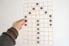 """DIY: """"Leaves"""" by textile designer Karen Barbé, from Santiago, Chile. Site: karenbarbe.com"""